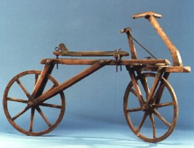 ¿Quién inventó la bicicleta?¿En qué año? Historia 3