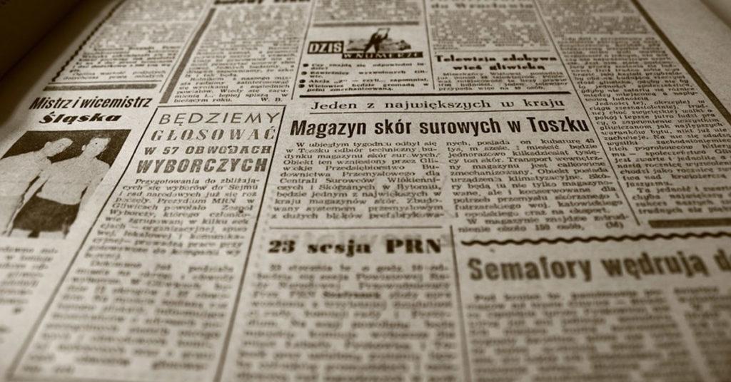 ¿Quién inventó el periódico? Historia y Curiosidades 1