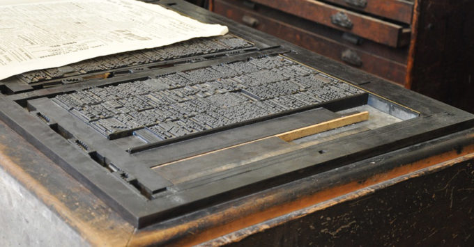 ¿Quién inventó la imprenta? 7