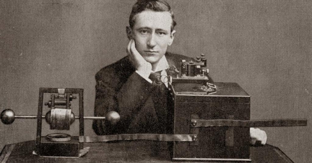¿Quién inventó la radio y en Qué año? 1